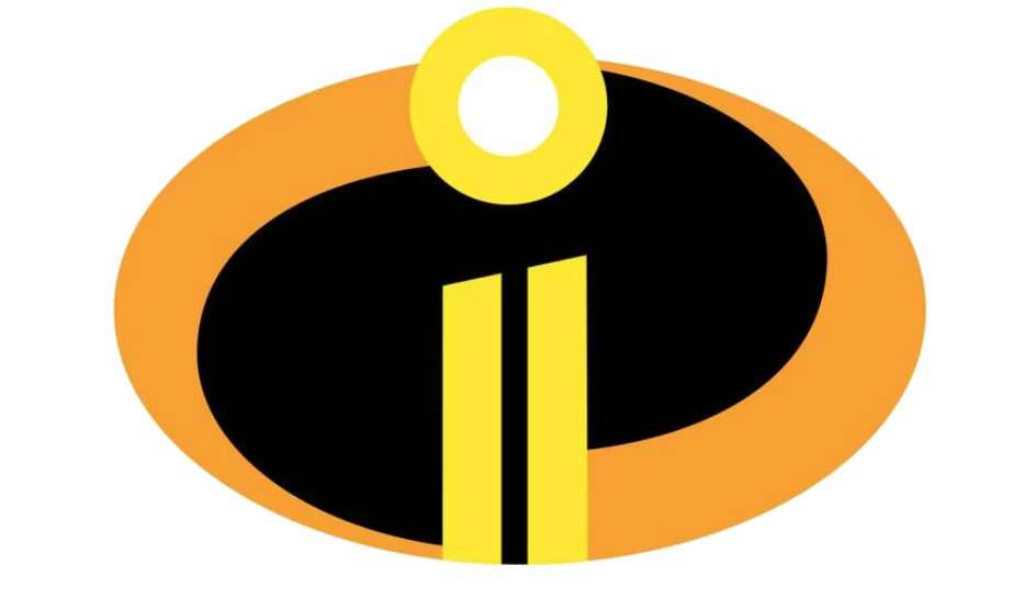incredibles 2 logo png