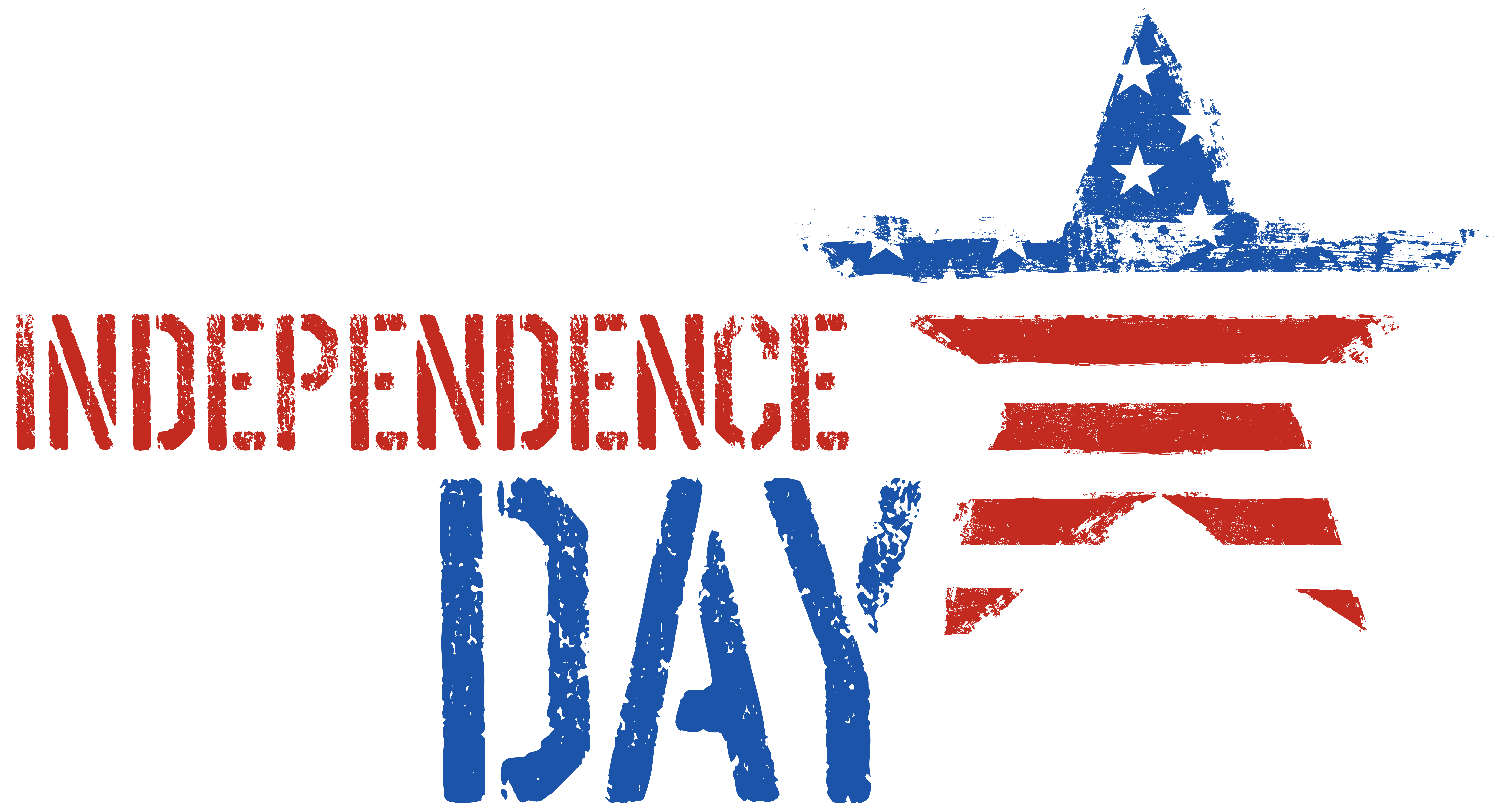 Independence clipart. Day decor png clip
