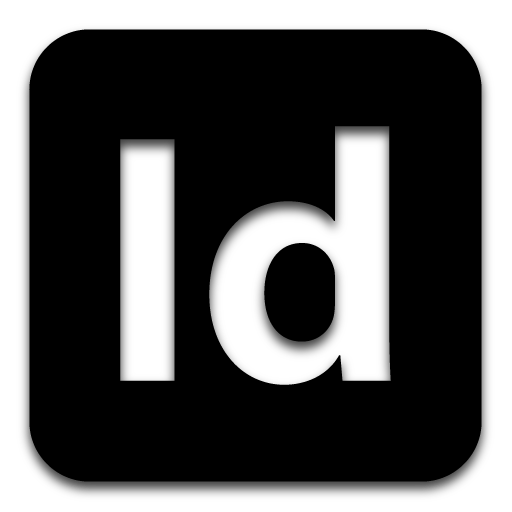 Indesign png black background. Logo icon free icons