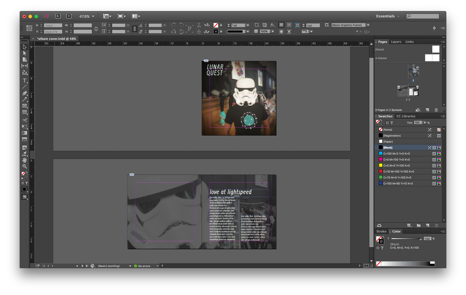 Vector magazines psd. Photoshop vs illustrator indesign