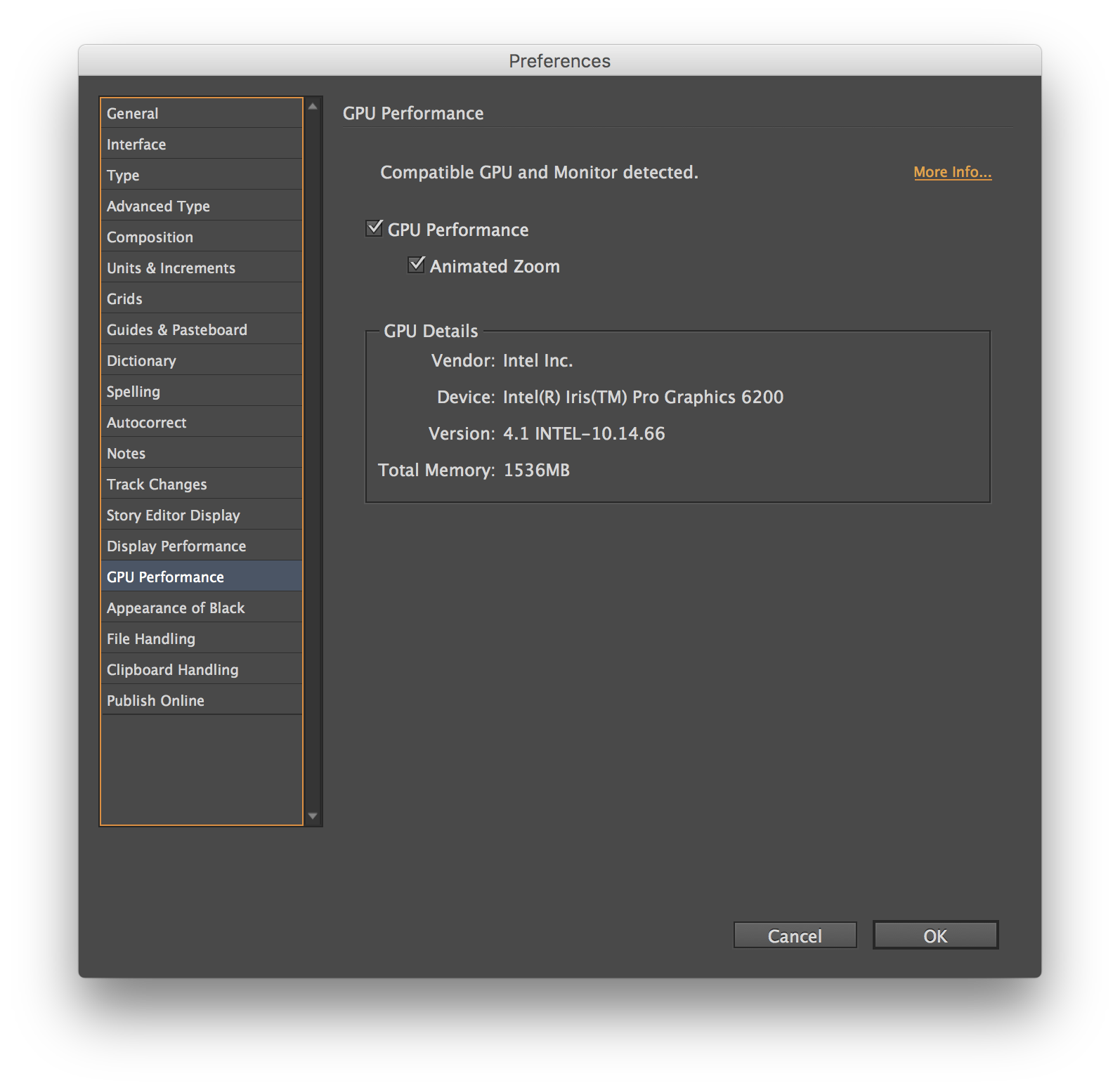 Indesign vector premiere pro adobe. Gpu performance feature enhancements