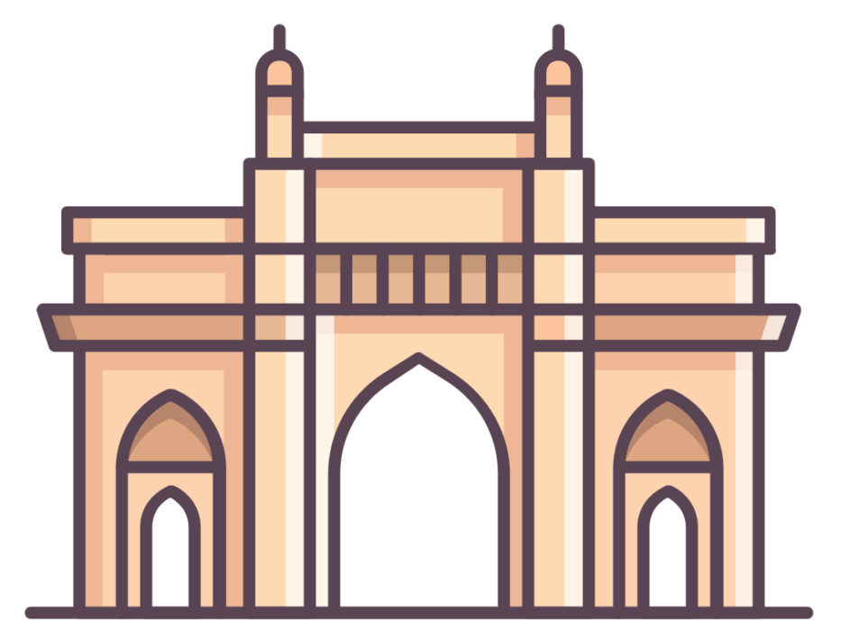 India clipart architecture. Gate at getdrawings com