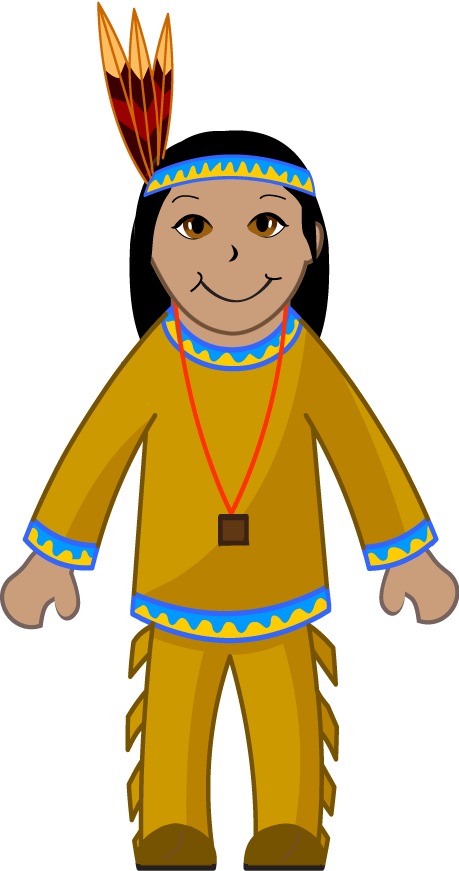 India clipart boy. Clip art of an