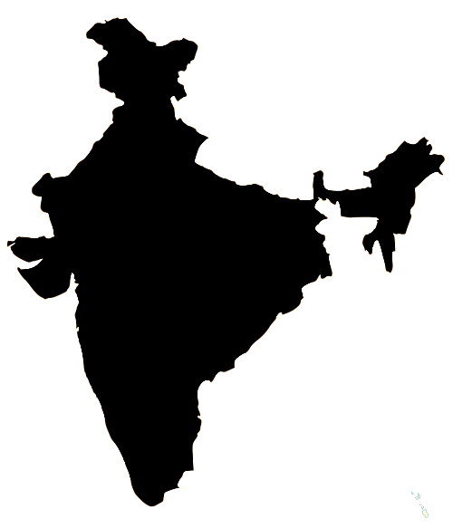 India map outline png. File wikimedia commons indiaoutlinepng