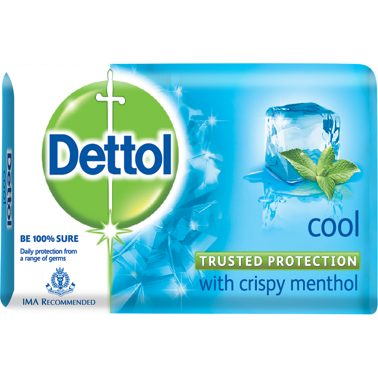 Transparent soaps blue. Dettol cool soap g