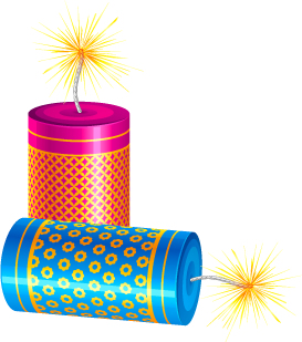 Firecracker vector diwali. India are widely known