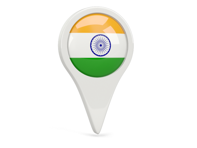 India transparent symbol. Indian flag icons png