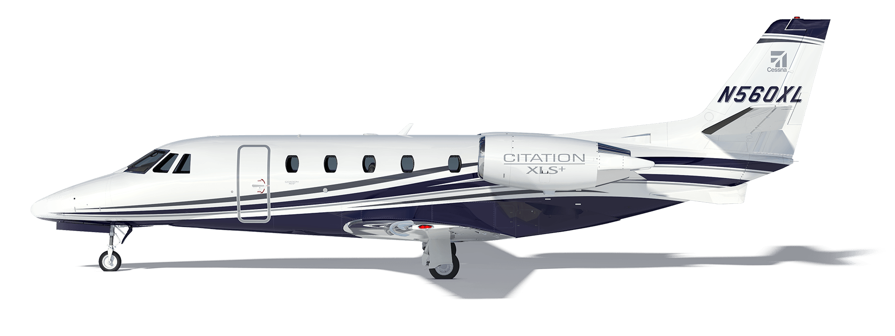India transparent plane. Citation xls airborne solutions