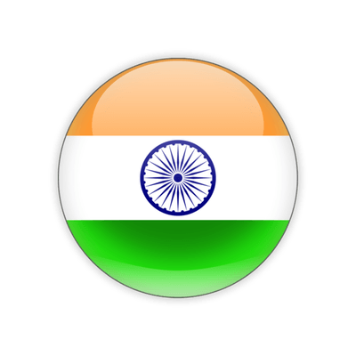 India transparent symbol. Icon flag png stickpng