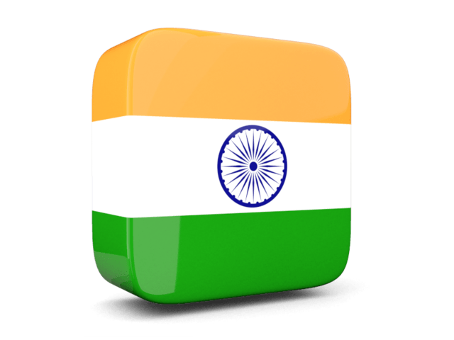 India transparent symbol. Side icon flag png