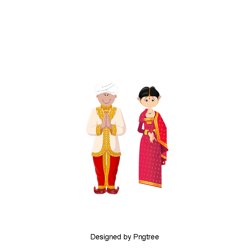 Bride clipart clothes indian. Traditional wedding dress png