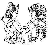 Marriage clipart marriage indian ceremony. Eb fee d