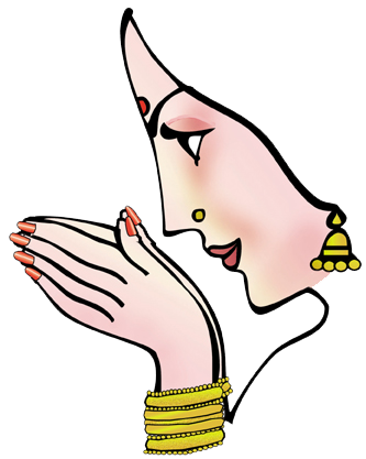 Indian wedding clipart png. Awesome wel e hand