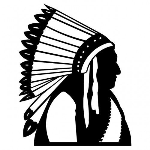 Indians clipart silhouette. Indian horse at getdrawings
