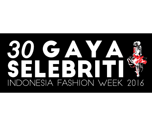 Indonesia fashion week 2017 png. Gaya selebriti di