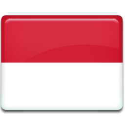 Indonesia flag png. Icon all country iconset
