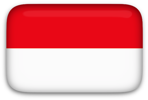 Indonesia vector background. Free animated flags indonesian