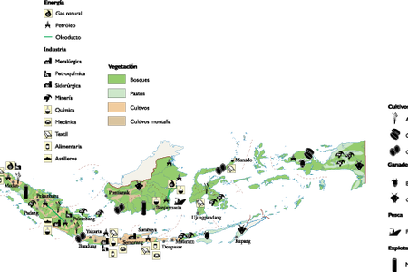 Indonesia vector dot. Map ai full hd