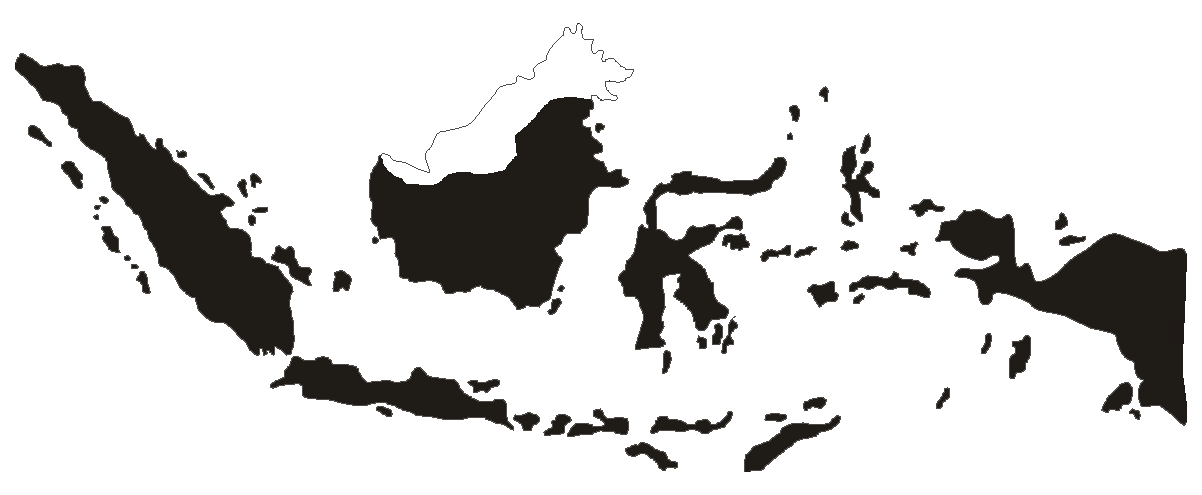 Indonesia vector illustrator. Map png full hd