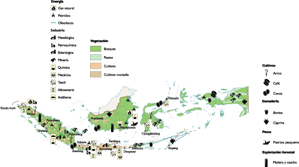 Indonesia vector ppt. Economic map world maps