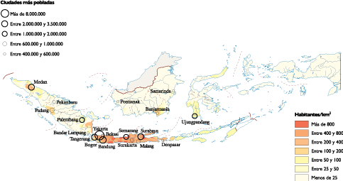 Indonesia vector ppt. Population map world maps