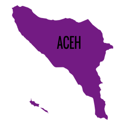 Indonesia vector pulau. Complete map download aceh