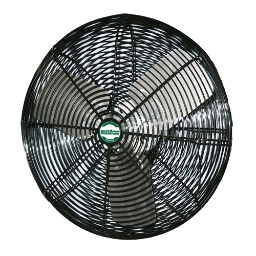 Industrial fan png. High output black deluxe