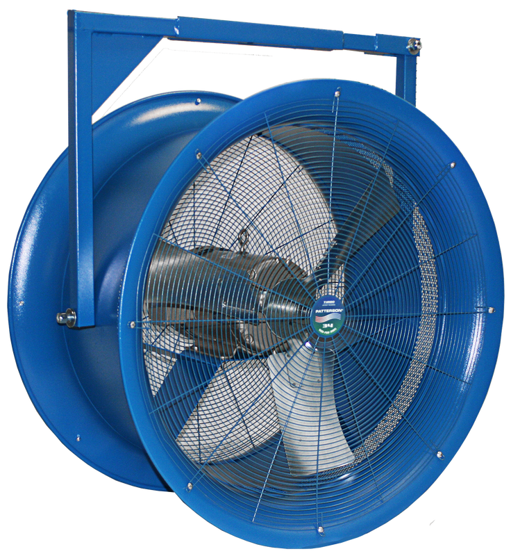 Industrial fan png. High velocity fans patterson