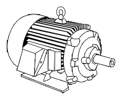 Pump drawing motor. Engineering services elect p