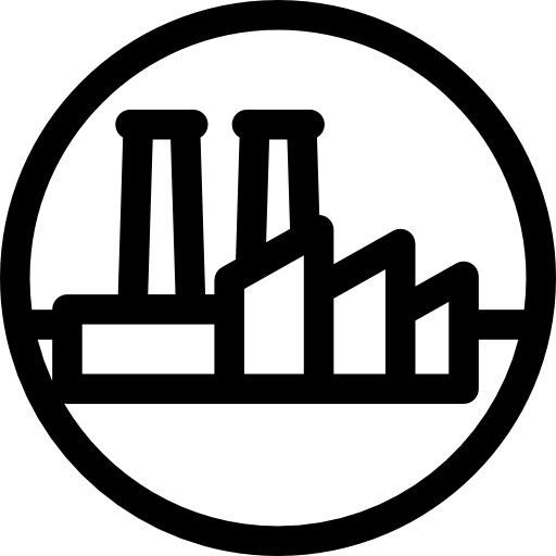Industrial vector petrochemical industry. Factory icons free download