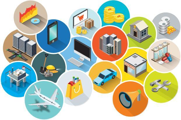 industry clipart economic sector