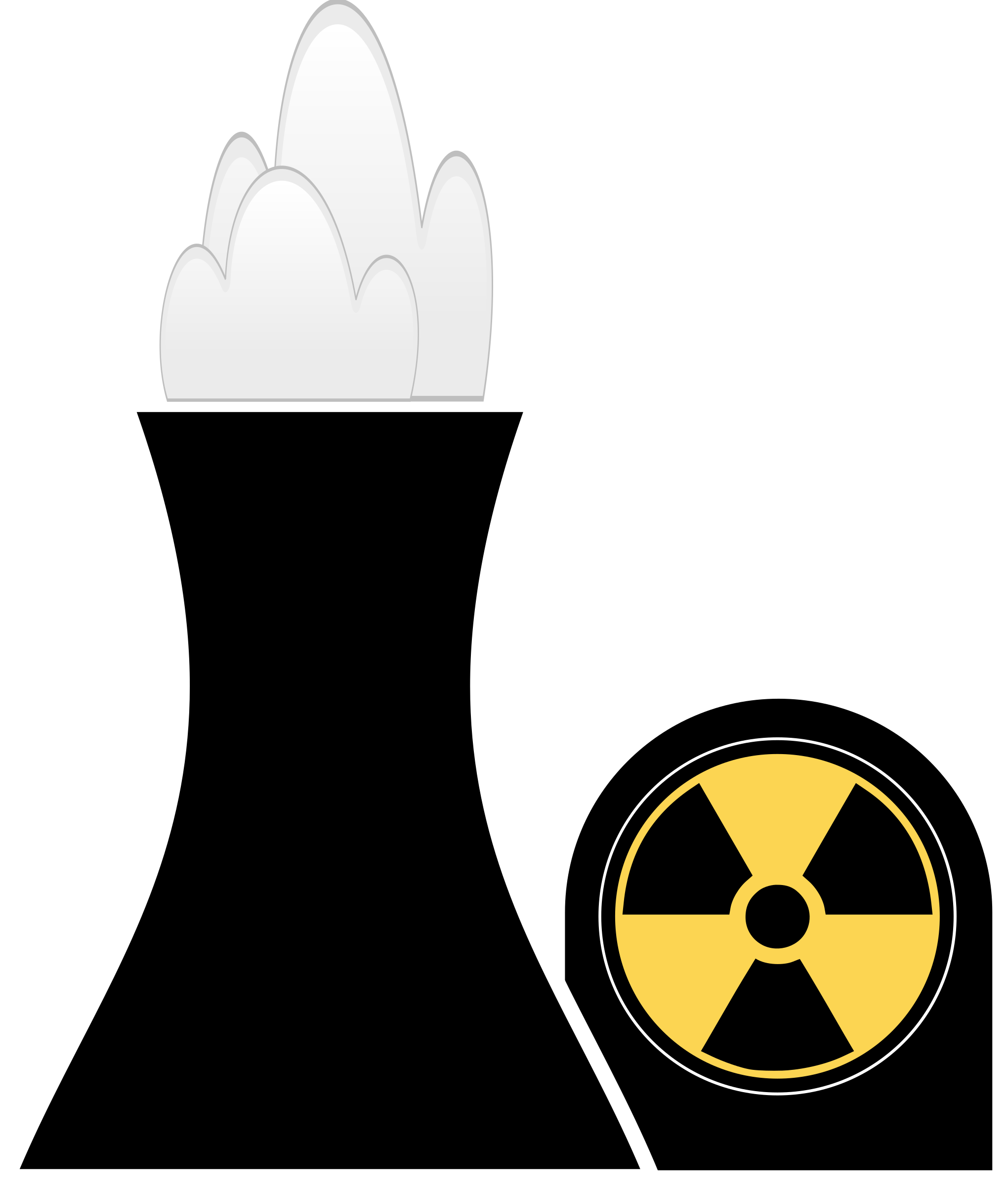 industry clipart nuclear factory