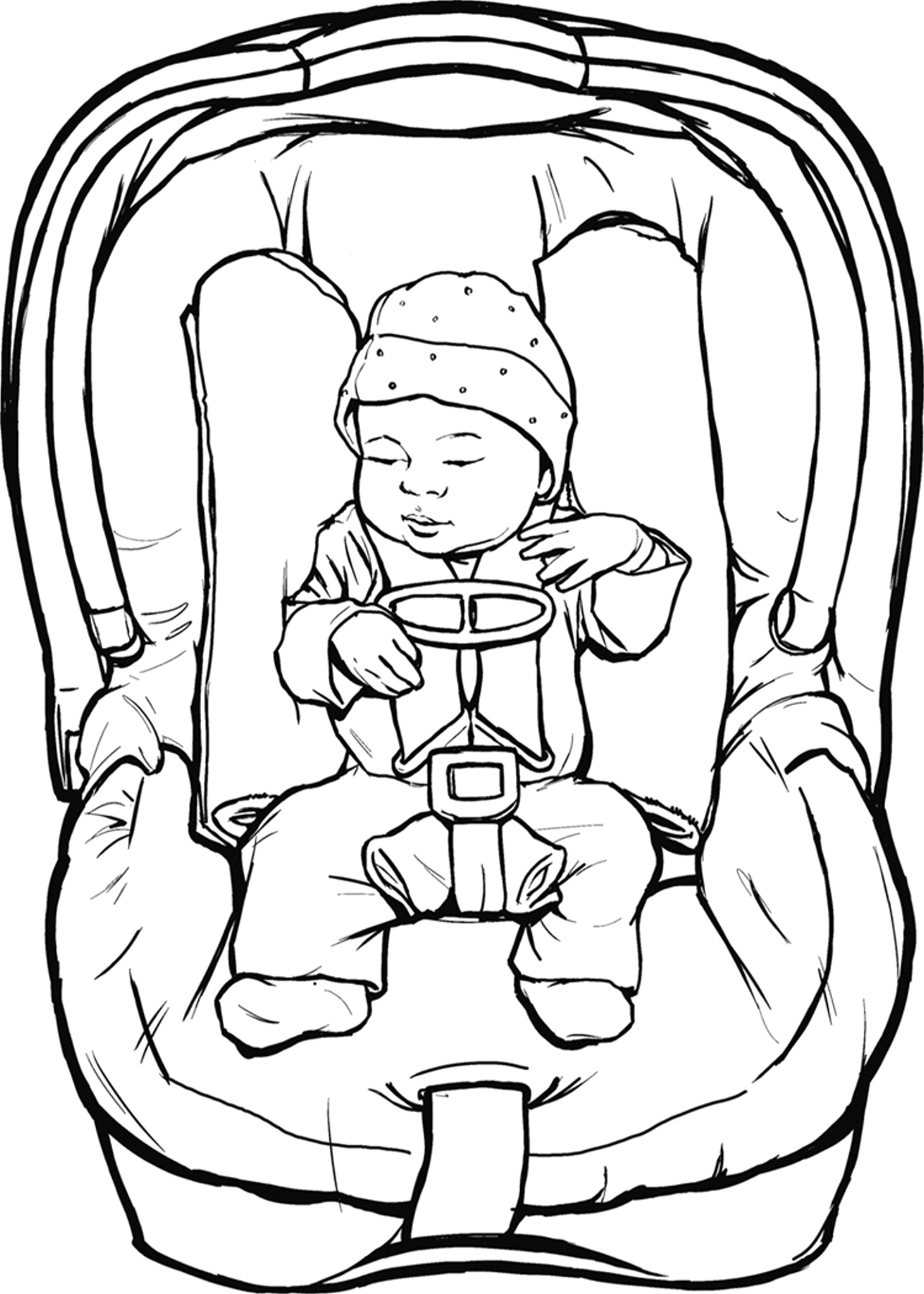 Infant clipart baby drawing. Newborn at getdrawings com