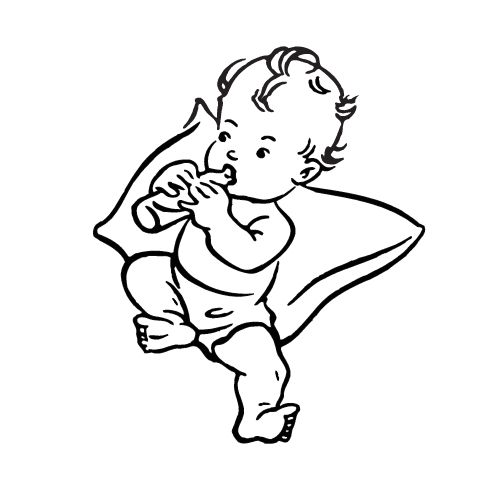 Best clip art. Infant clipart baby drawing vector freeuse library