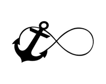 Infinity clipart. Anchor