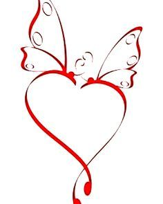 Infinity clipart butterfly tattoo. Heart pinterest and small