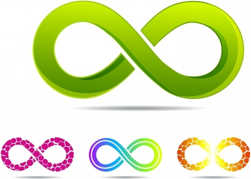 Infinity clipart infinity circle. Vector symbol free download