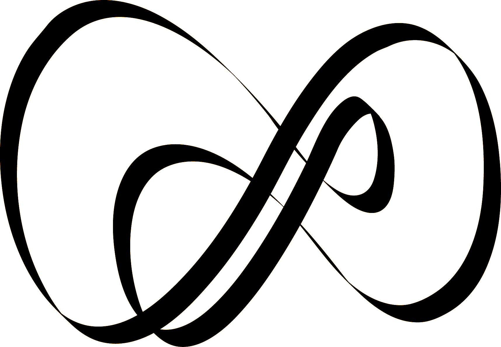 Infinity clipart infinity sign. Double