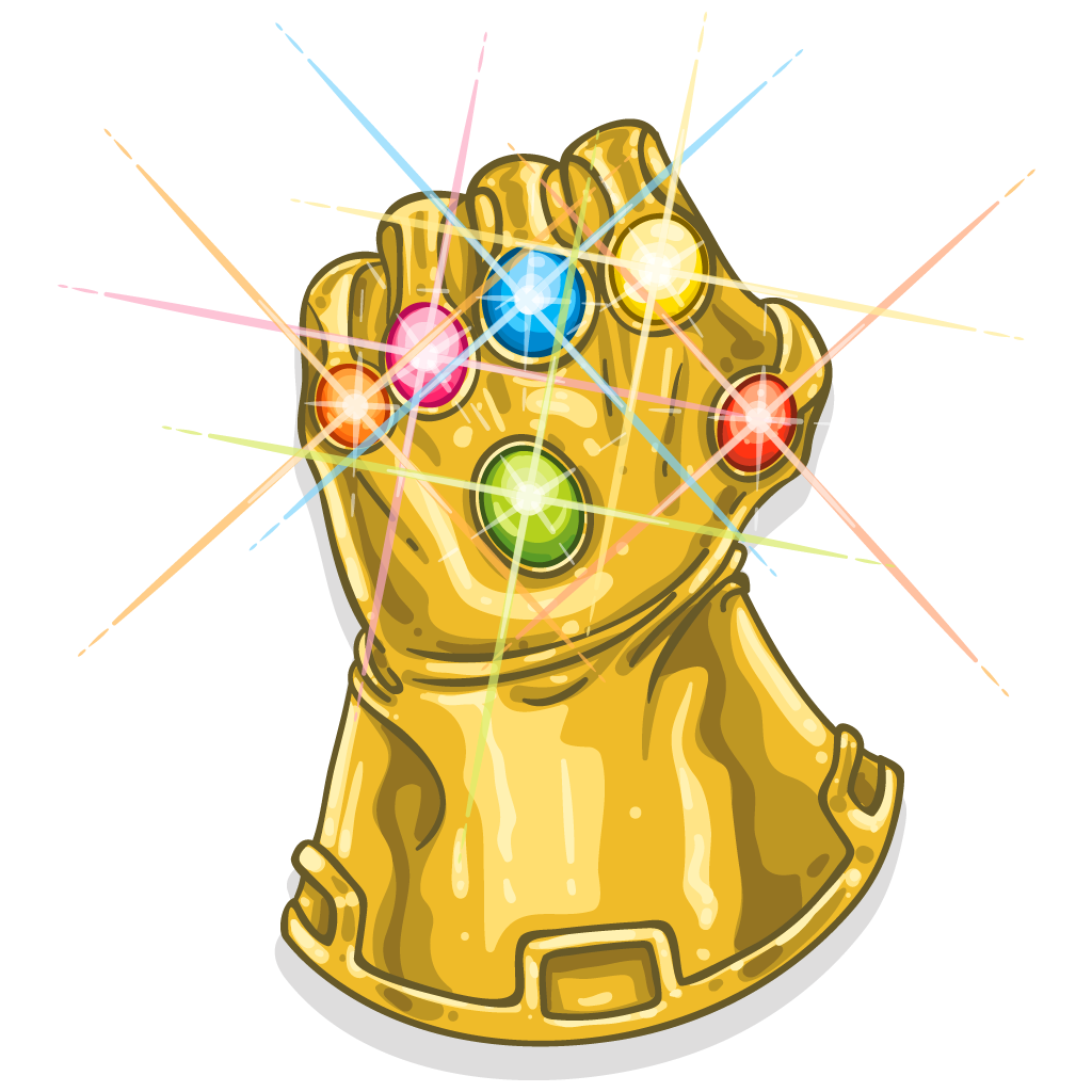 Infinity gaunlet png. The gauntlet youtube thanos
