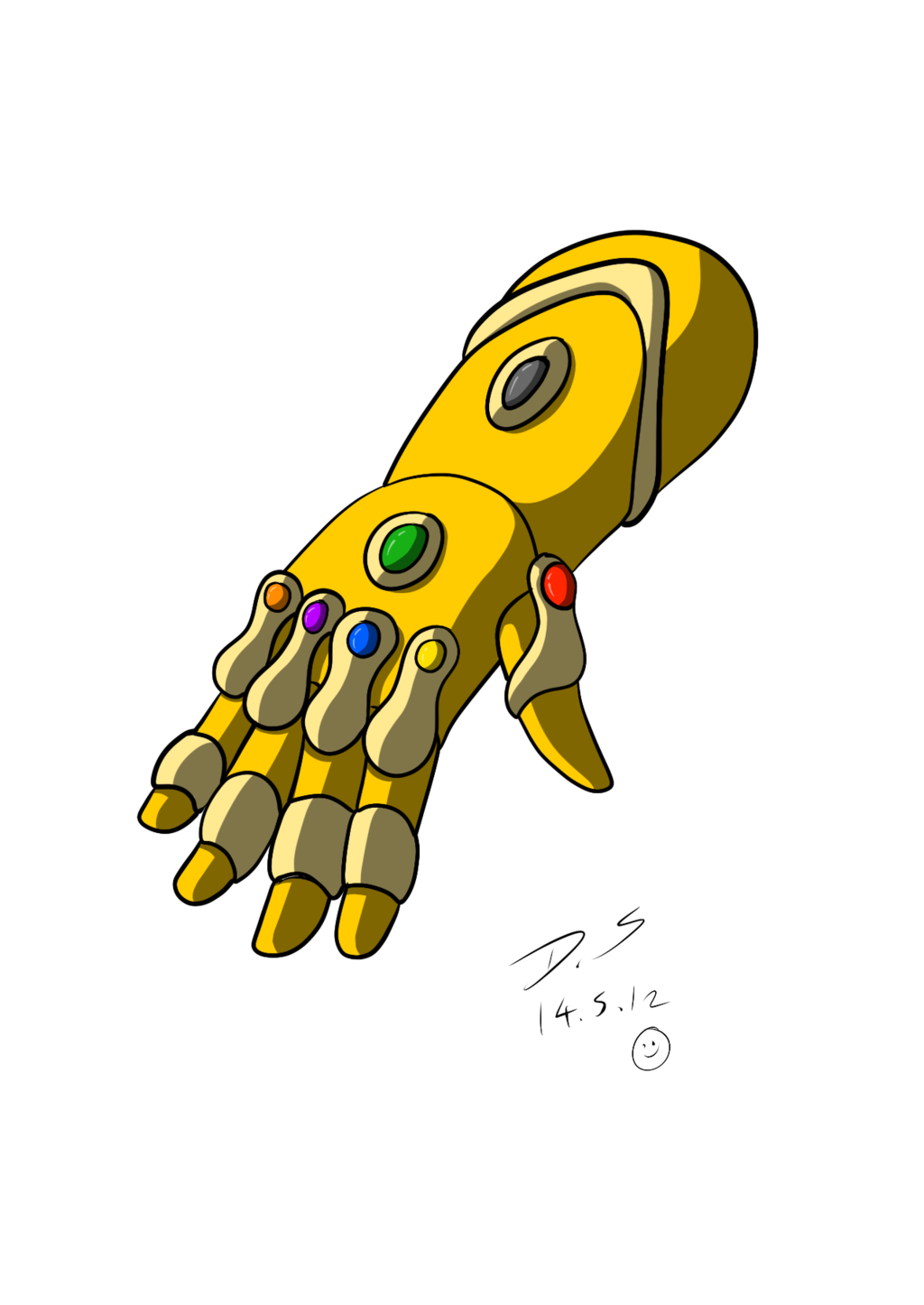 Thanos gauntlet png. Image infinity the adventures