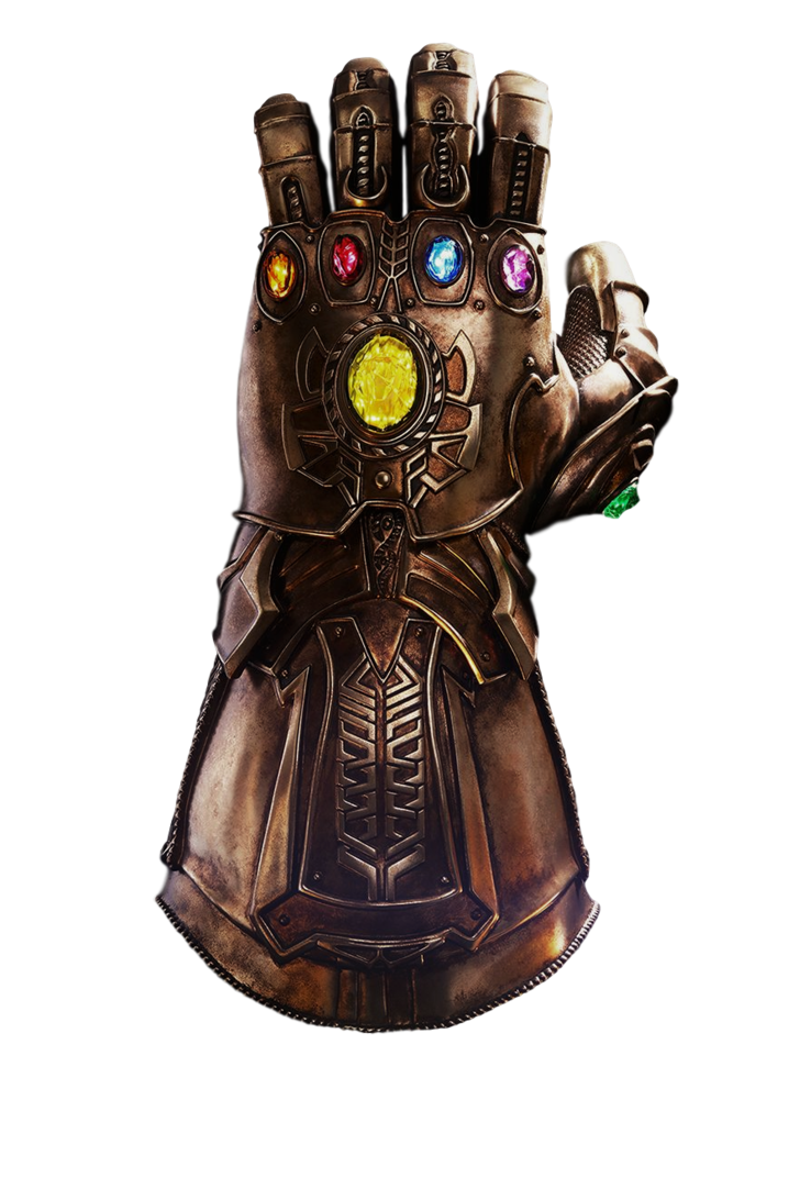 Thanos gauntlet png. Infinity transparent by camo