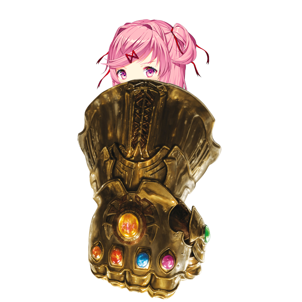 Infinity gauntlet png. When the is too