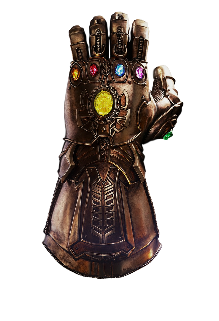 Infinity gauntlet png. Transparent by camo flauge
