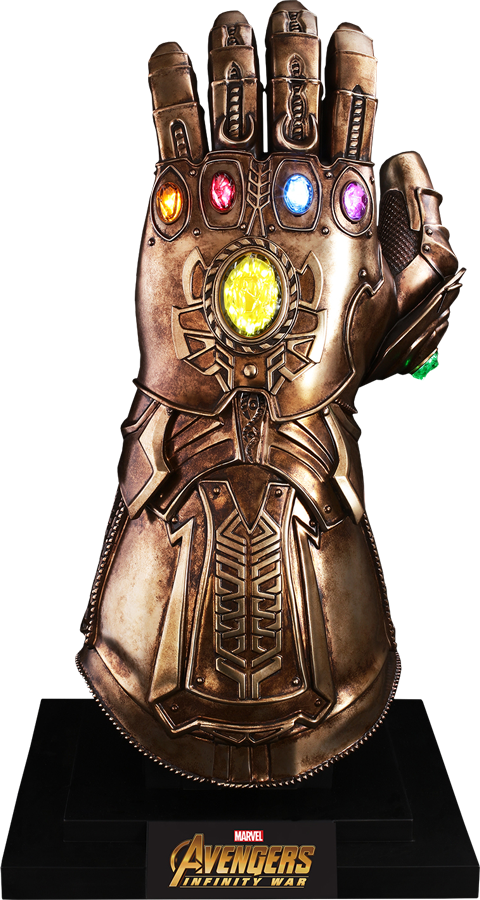 Thanos gauntlet png. Hot toys infinity prop