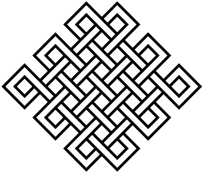 Infinity knot png. What symbol would represent