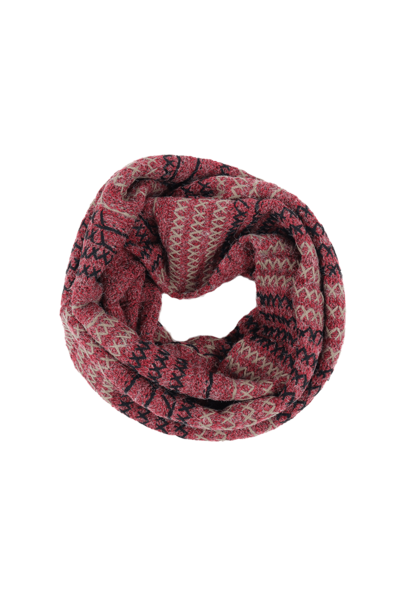 Infinity scarf png. Color stitched lou