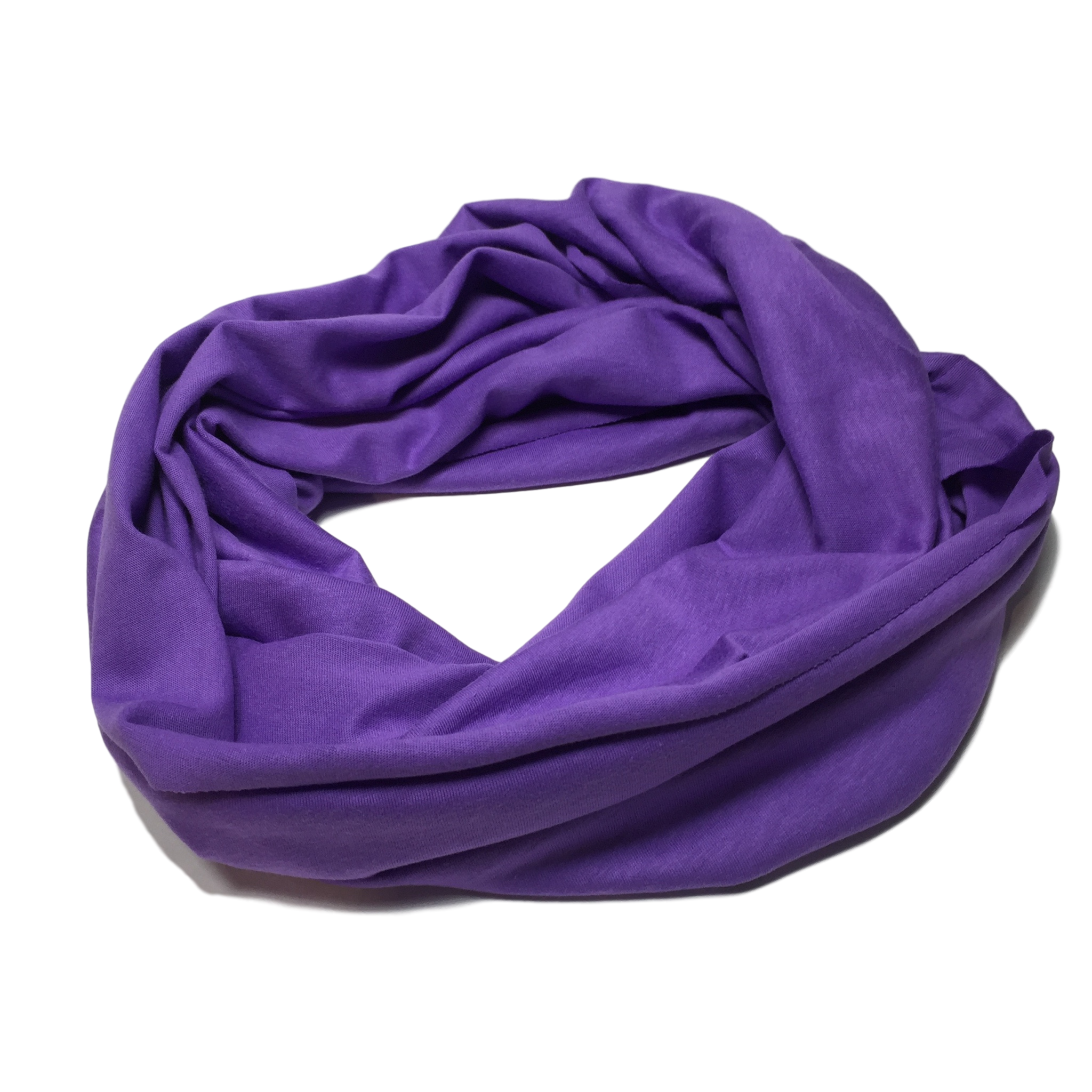 Infinity scarf png. Purple