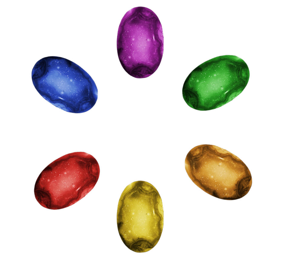 Transparent stones. Infinity background by camo