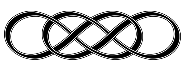 Infinity times infinity png. X w border by