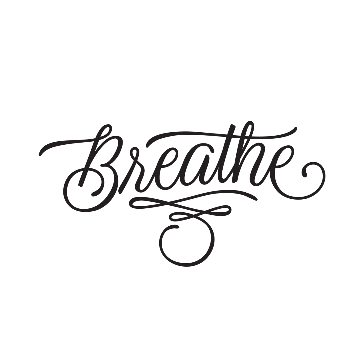 Infinity transparent fake tattoo. Breathe tattoos quotes by